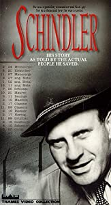 Schindler (1983 documentary) [VHS]