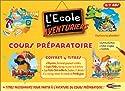 L'Ecole des Aventuriers CP, 4 titres : Rayman : Accompagnement scolaire CP / Les Petits Débrouillards / Le Voyage autour du Monde de Paddington / Lapin Malin : Voyage au Pays de la Lecture