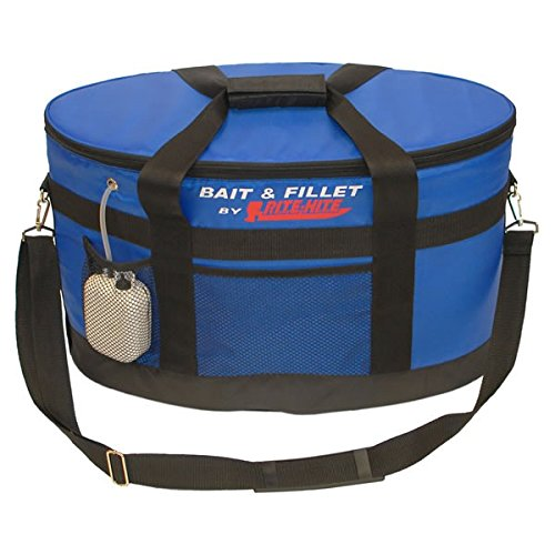 RITE-HITE Bait and Fillet Cooler - Includes Cutting Board with Clamp, Aerator and Removeable Cooler. Use as a Livewell when
