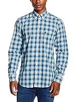 Otto Kern Camisa Hombre (Azul Claro)