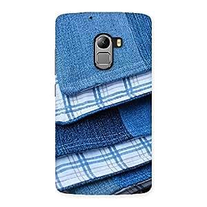 Cute Denim Blanket Print Back Case Cover for Lenovo K4 Note