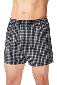3 Pack Assorted Woven Boxers [T14-3887V-S]