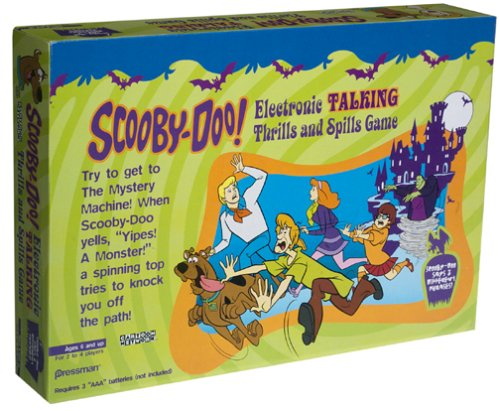 Scoobi-doo Electronic Talking Thrills and Spills Game - Buy Scoobi-doo Electronic Talking Thrills and Spills Game - Purchase Scoobi-doo Electronic Talking Thrills and Spills Game (Hanna-Barbera, Toys & Games,Categories,Games,Board Games)