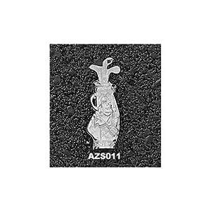 Arizona State Sparky Golf Bag - 14K Gold by Logo Art