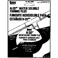 Oatey 301485 H-2095 Water Soluble Tinning Flux