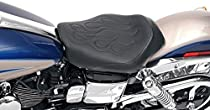 Saddlemen Tattoo Solo Seat with Black Stitch 806-04-0112