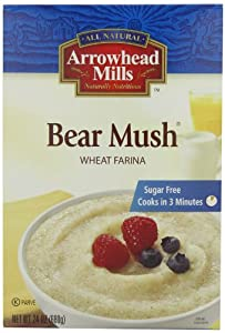 Arrowhead Mills Hot Cereal, Bear Mush, 24-Ounce Boxes (Pack of 6)