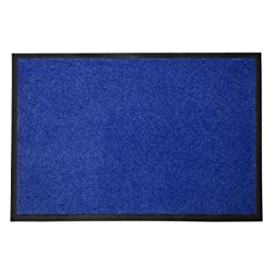 Etm dirt trapper mat 60x90cm blue for Door mats amazon