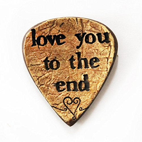 love-you-to-the-end-engraved-coconut-guitar-pick-handmade-gift