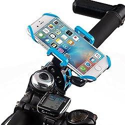 YIGER Bike Mount holder 360 Degree Rotation Smartphone Bicycle Mount Adjustable Handle Bar Plastic Smart Phone Holder for IPhone 6 Plus 6S etc