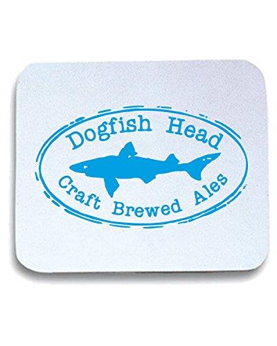 T-Shirtshock - Tappetino Mouse Pad FUN1247 dogfish head oval logo sticker 69796, Taglia taglia unica