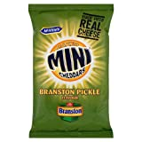 Jacob's Mini Cheddars Branston Pickle Grab Bag 50g case of 6