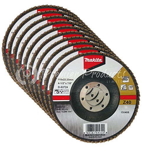 makitar-10-pack-abrasive-angled-flap-disc-4-1-2-x-7-8-inch-z40-for-metal-stainless-steel-non-ferrous