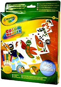 Crayola Color Wonder Metallic Paper & Markers