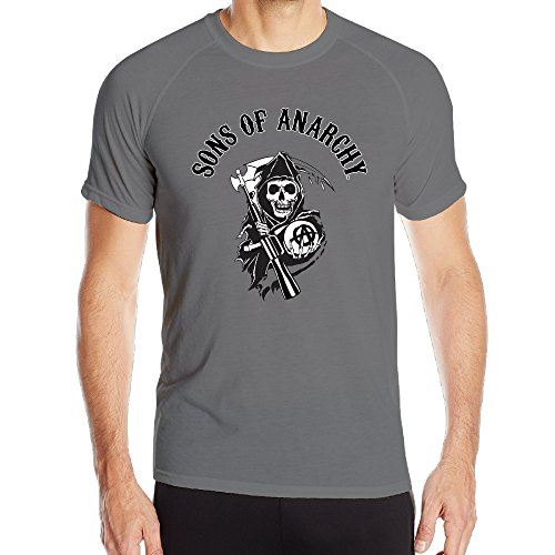 Sons Of Anarchy Jax Teller Logo Men Tops Screen Print Dry Shirt