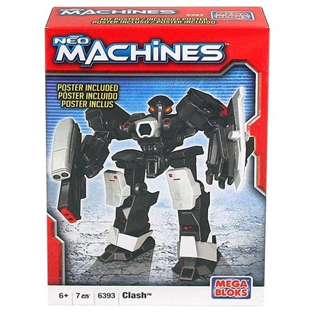 Mega Bloks Neo Machines Figure [Clash 6393] - 1