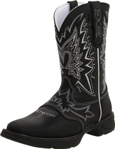 Durango Women's RD4410 Boot,Black,7.5 B (M) US
