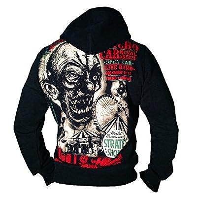 Yakuza ORIGINAL Kapuzensweatshirt - HOB 491 schwarz BRANDNEU S-4XL