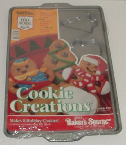 Ekco Nestle Toll House Cookie Creations Cookie Pan