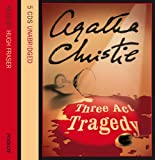 [Three Act Tragedy: Complete & Unabridged] (By: Agatha Christie) [published: August, 2002]