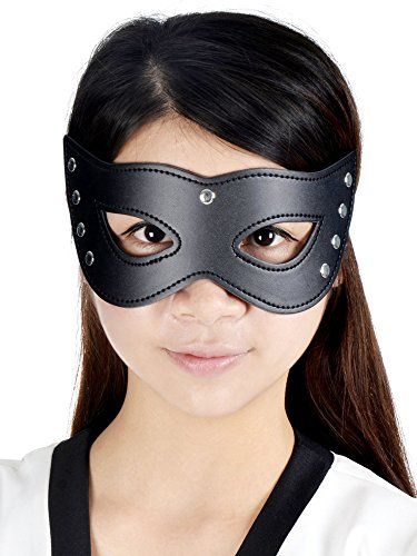 Sexy Rivets Cat Mask for Masquerades, Costume Balls, Prom, Mardi Gras
