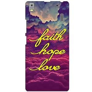 Lenovo K3 Note PA1F0001IN Back Cover - Faith Designer Cases