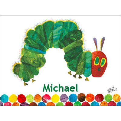"Oopsy Daisy Eric Carle's The Very Hungry Caterpillar by Eric Carle Canvas Wall Art, 24"" by 18"""