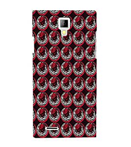EPICCASE rose in plate Mobile Back Case Cover For Micromax Canvas Xpress A99 (Designer Case)