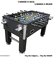 Foosball Table / Soccer Table / Football Table - Warrior Edition With '2' Cup Holders