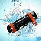 USB 2.0 Waterproof Underwater 8GB WMA MP3 Music Player Swimming Water Black - Best Reviews Guide
