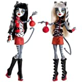 Monster High Werecat Twin Meowlody & Purssephone