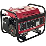 HomCom 3HP 1000 Watt 4-Stroke Gas Powered Portable Generator - Red
