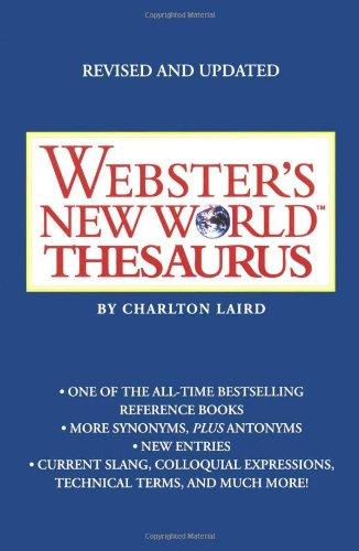 Webster'S New World Thesaurus