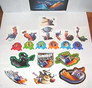 Amazon.com : Dreamworks Turbo The Snail Toys Deluxe Party ...