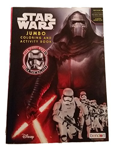 Star Wars Jumbo Coloring and Activity Book