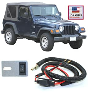 : Jeep Wrangler TJ Bypass Dome Light Lamp Wiring