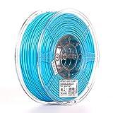 eSUN 3mm Light Blue PLA PRO (PLA+) 3D Printer Filament 1KG Spool (2.2lbs), Actual Diameter 2.85mm +/- 0.05mm, Light Blue