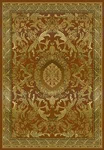 "United Weavers Tapestries Area Rug 140-02910 Marseilles Sierra Tea Wash 1' 10"" x 3' Rectangle"