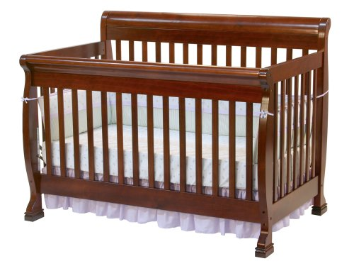 DaVinci Kalani 4 in 1 Crib with Toddler Rail, Cherry