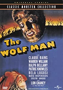 "Cover of ""The Wolf Man"""