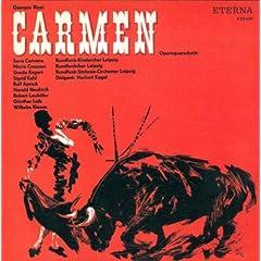 Georges Bizet: Carmen (Sung in German) [Opera](Cervena, Apreck, Leipzig Radio Symphony Orchestra, Kegel)