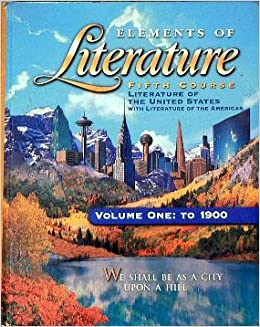 Elements of literature book grade 11