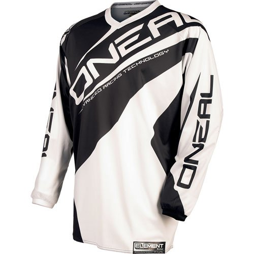 2015 O'Neal Element Black Jersey for Motocross / Off-Road / Dirt Bike / ATV / MTB - XXX-Large