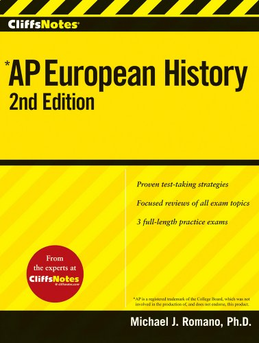 Cliffsnotes Ap European History, 2Nd Edition (Cliffs Ap)