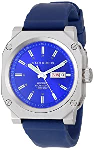 Android Men's AD333BBU Armor 15 Automatic Blue Dial Watch