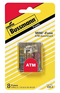 Bussmann KM-8 Mini Blade Fuse Assortment