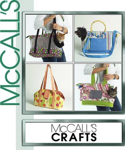 McCall's Crafts - M5151 - Pet (Dog and Cat) Carriers
