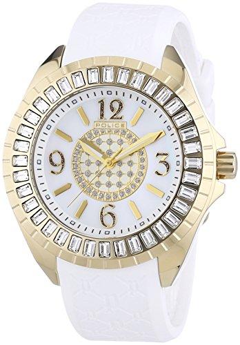 Police Damen-Armbanduhr JADE Analog Kautschuk P13090JSG-28A
