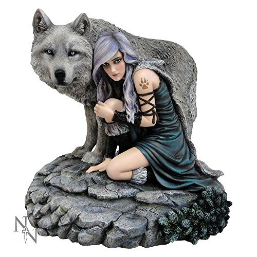"Anne Stokes Collection - Statuina motivo ""Protector"", edizione limitata"