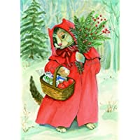 Woodfield Press Red Cloak Notecard